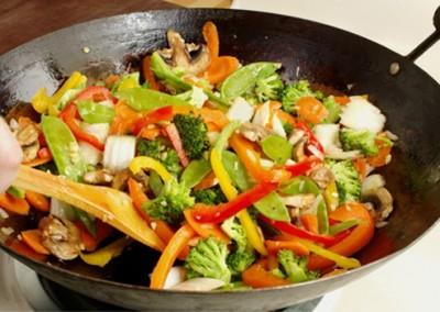 Légumes façon tajine ou wok